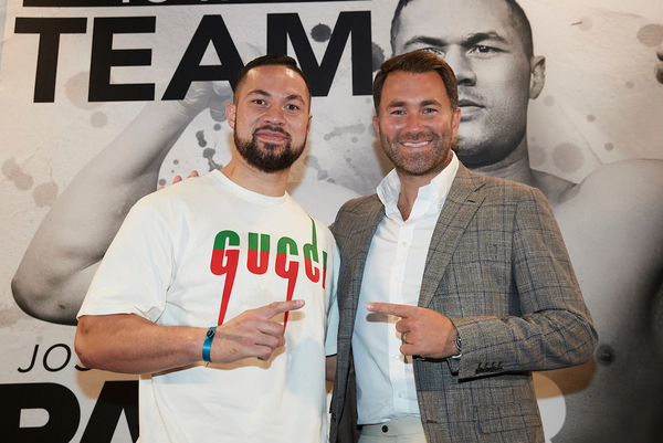 Joseph Parker next opponent: 'He's getting sparked then I'll take Andy Ruiz Jr Snickers'