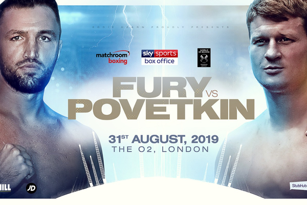 Alexander Povetkin EXCLUSIVE: I accepted Hughie Fury immediately at one month's notice