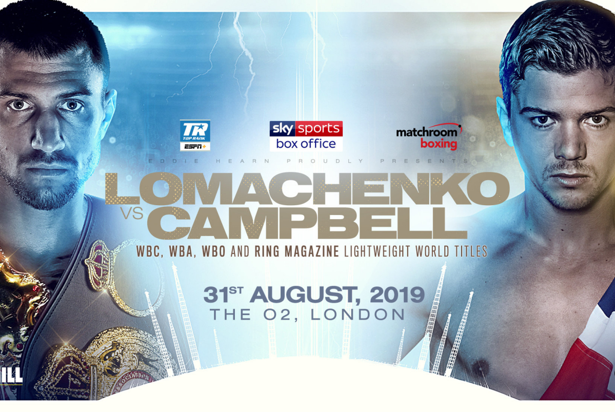 Secondsout Boxing News Main News Vasyl Lomachenko Vs Luke Campbell Date Venue Confirmed