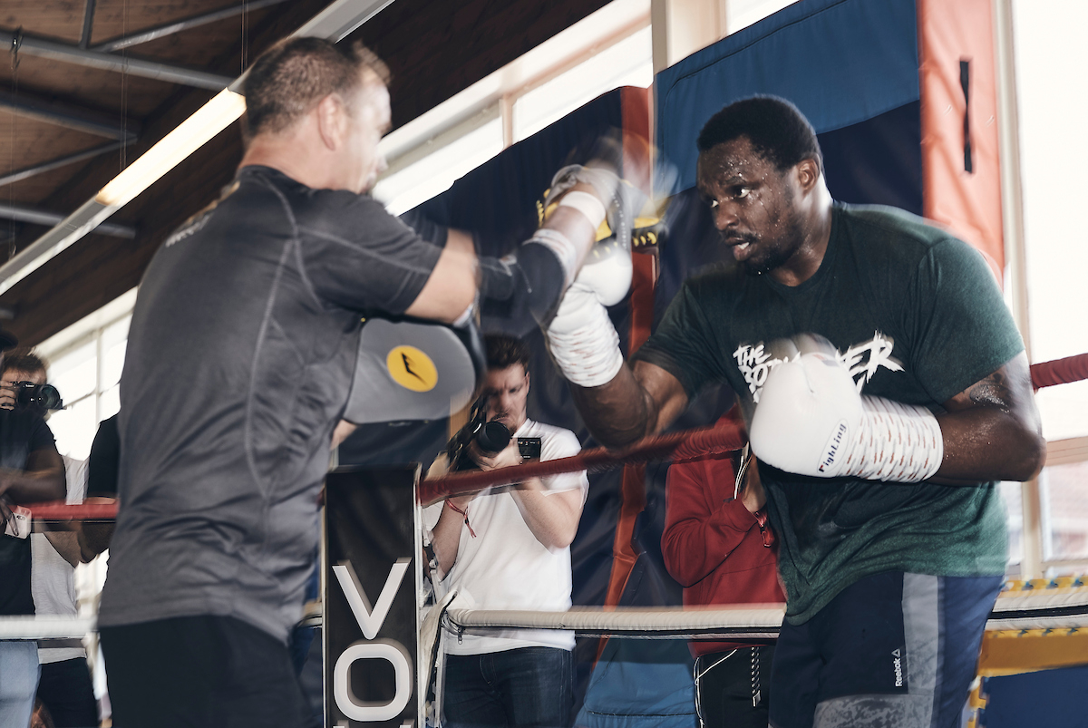Dillian Whyte (Mark Robinson/Matchroom Boxing)
