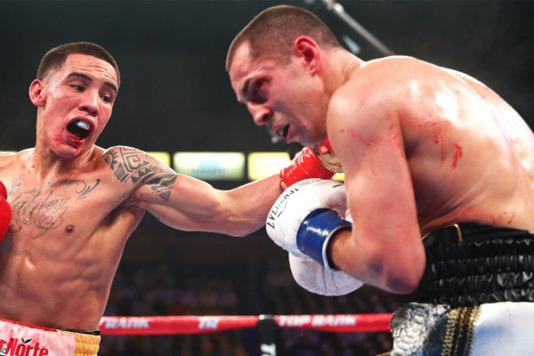 Scott Quigg asked about fighting Josh Warrington in next title defence