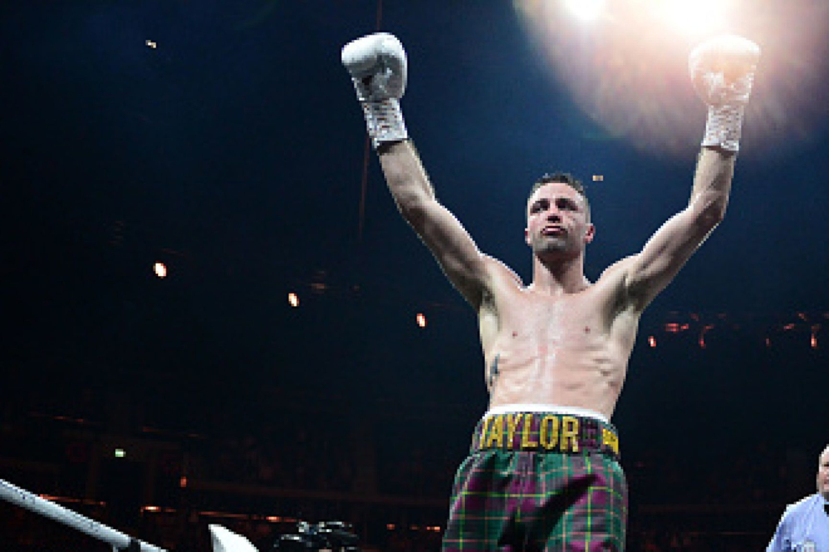 Josh Taylor, the most recent British boxer to win their first world title