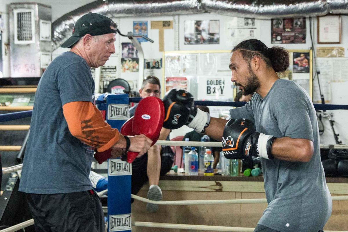 Keith Thurman with Dan Birmingham (PBC)