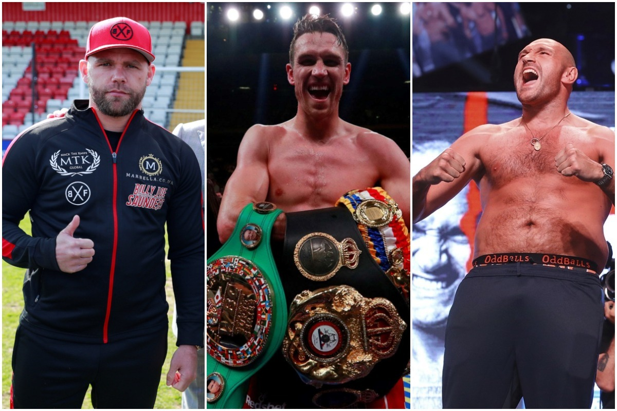 Saunders, Smith and Fury