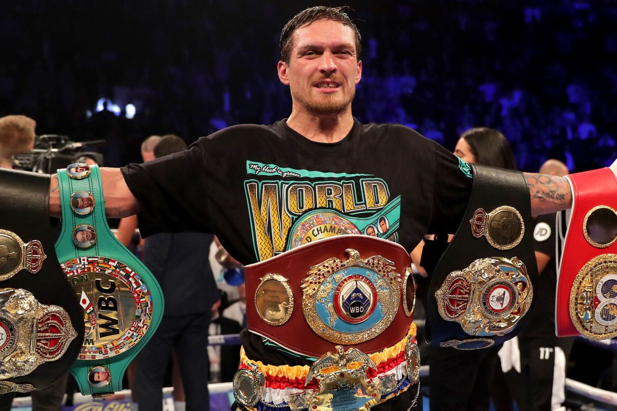 Oleksandr Usyk cleaned out the cruiserweight division