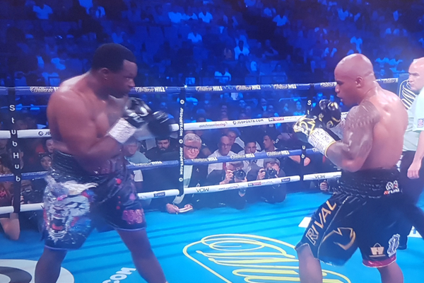 Dillian Whyte WBC mandatory position and Interim title provisionally suspended