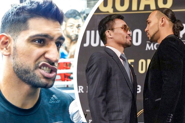 Amir Khan prediction for Manny Pacquiao vs Keith Thurman (video)