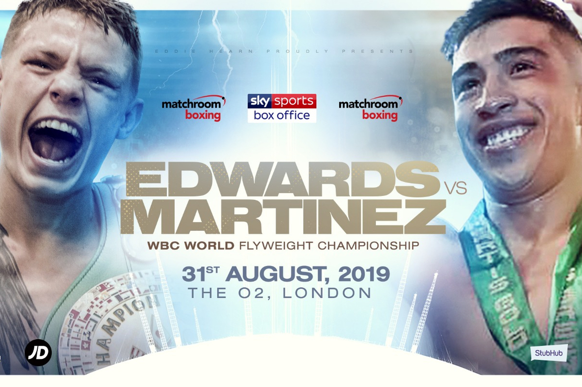 Charlie Edwards vs Julio Cesar Martinez