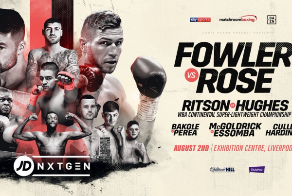 Lewis Ritson next fight former European champion as Fowler vs Rose is confirmed