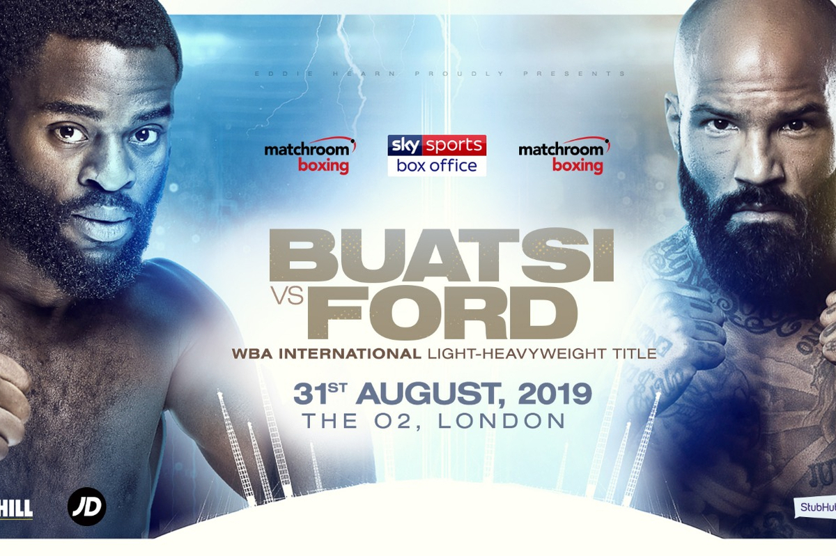 Joshua Buatsi vs Ryan Ford