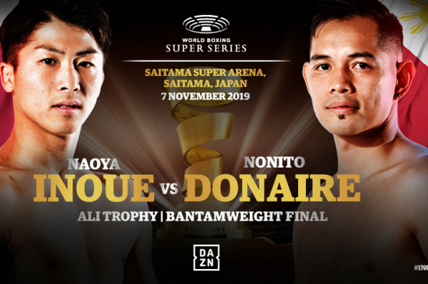 Naoya Inoue vs Nonito Donaire: WBSS final home advantage for 'The Monster'