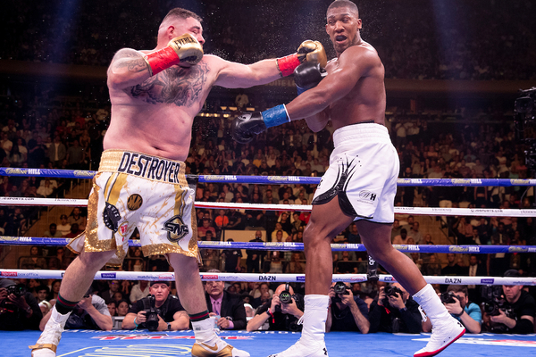 Anthony Joshua breaks down Andy Ruiz Jr upset while watching it back (video)