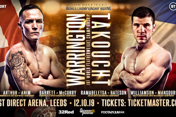 Josh Warrington gets IBF No. 4 in Leeds show with five title fights