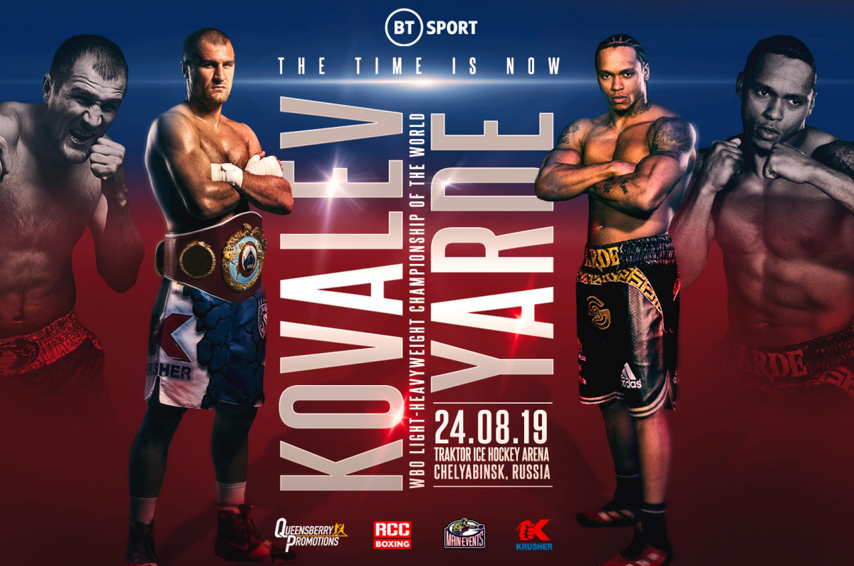 Sergey Kovalev vs Anthony Yarde