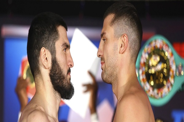 IBF light heavyweight champion Artur Beterbiev wears down and stops Oleksandr Gvozdyk, captures WBC belt