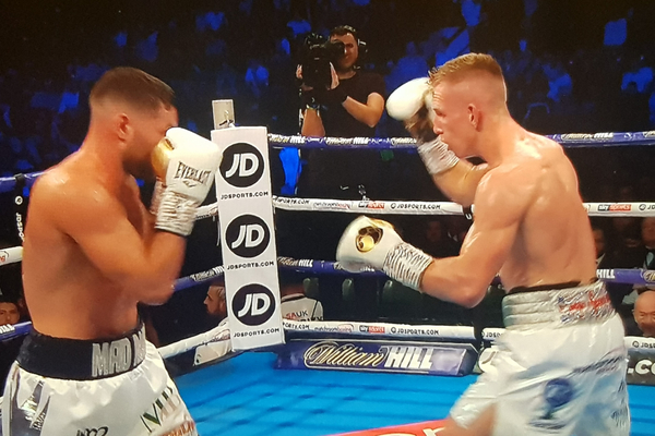 Ted Cheeseman vs Scott Fitzgerald sees new champion crowned as Londoner turns boxer