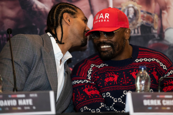 Dereck Chisora EXCLUSIVE: David Haye IS his coach for David Price, but won't put his name to it, says ex-trainer
