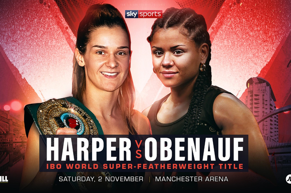 Terri Harper signs for Eddie Hearn & meets Natasha Jonas conqueror