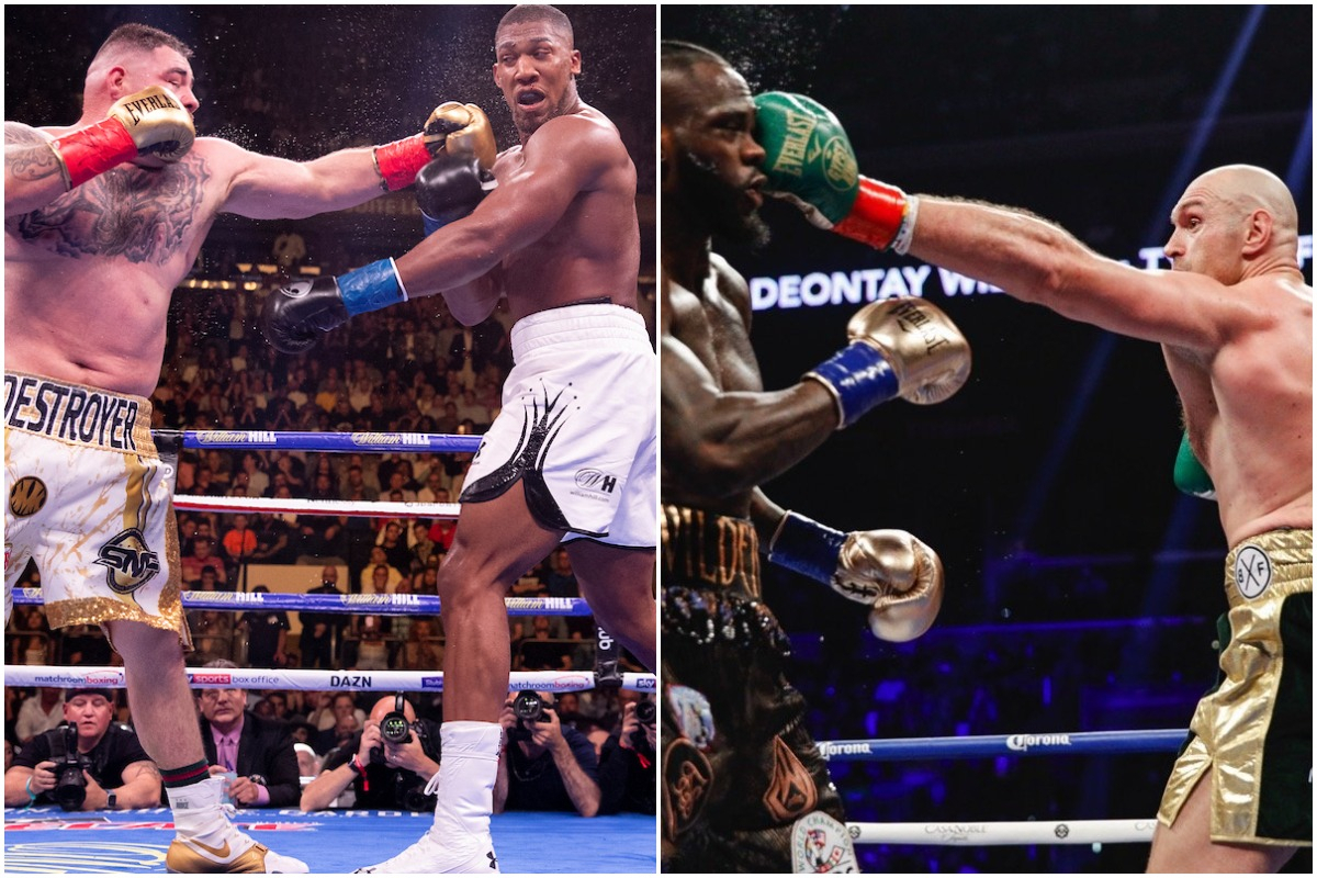 Andy Ruiz, Anthony Joshua, Deontay Wilder & Tyson Fury