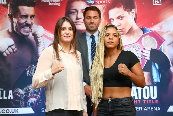 Katie Taylor targets Cecilia Brækhus superfight after Linardatou