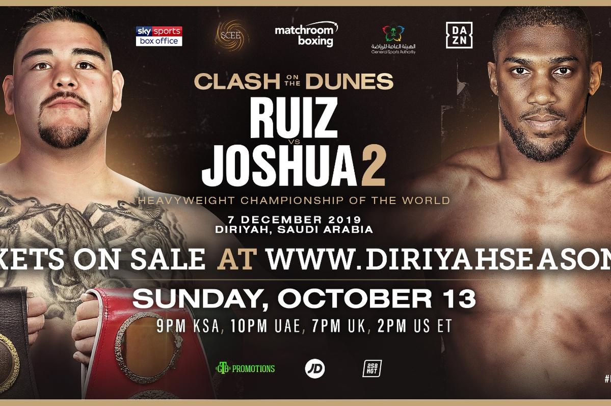 Ruiz Vs Joshua 2 Time