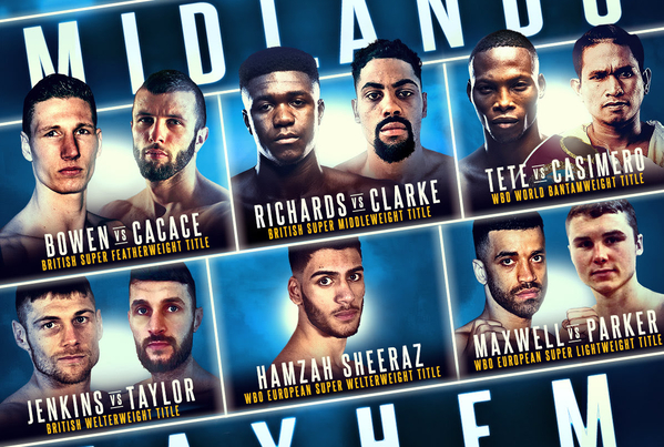 Frank Warren returns to Birmingham, after nearly a decade, with 6 title fights