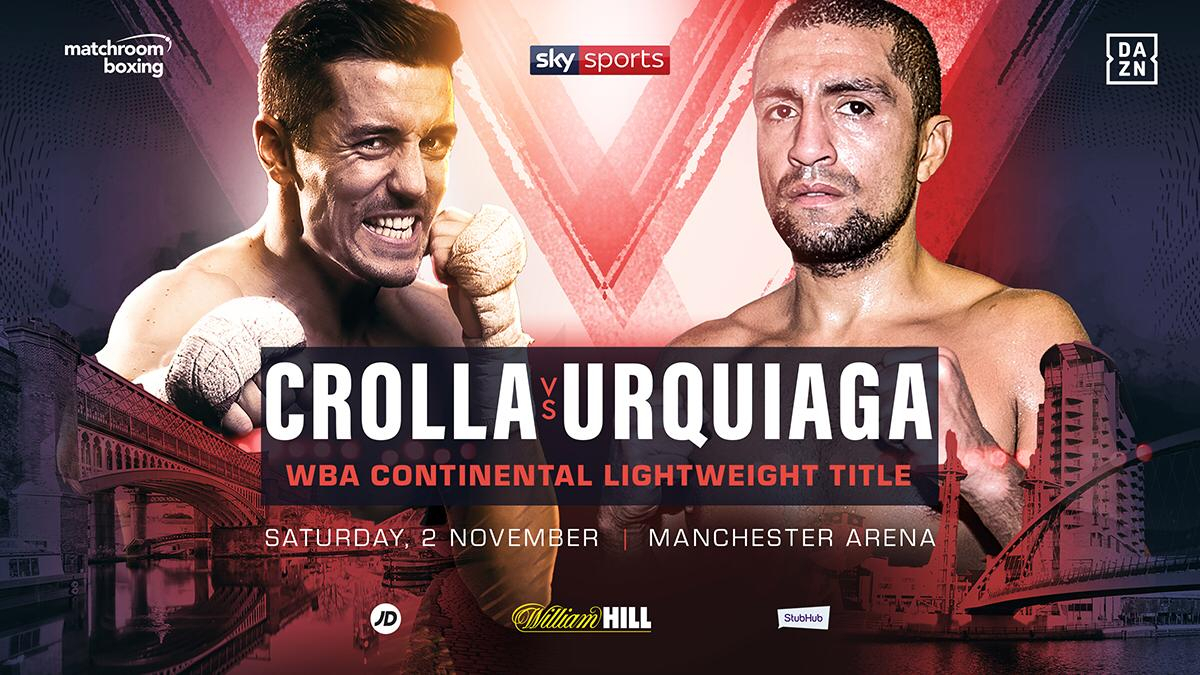 Anthony Crolla vs Frank Urquiaga