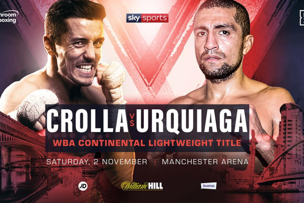 Frank Urquiaga the man to face Anthony Crolla in final fight
