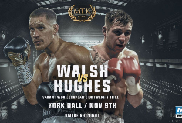 Liam Walsh already back fighting for titles