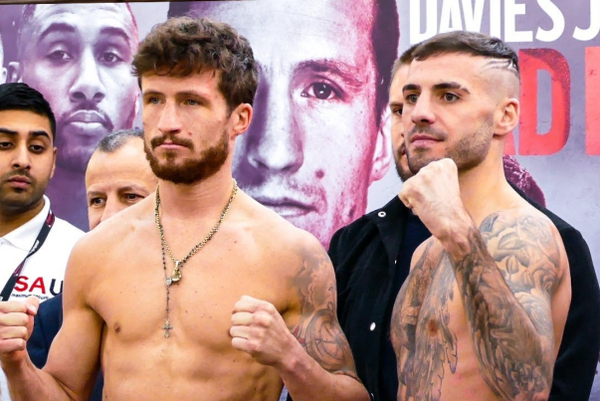 Robbie Davies Jr vs Lewis Ritson weigh-in (video)