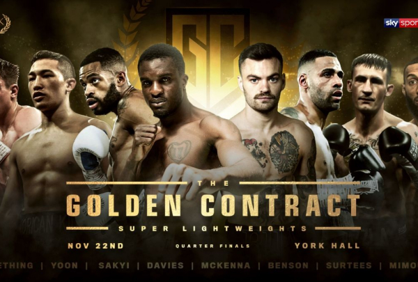 Ohara Davies vs Tyrone McKenna grudge match delayed in Golden Contract tournament