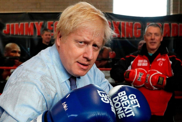 Boris Johnson and Tyson Fury: by the trainer they have in common