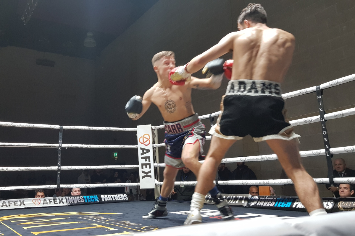 Danny Carr edges Lewis Adams
