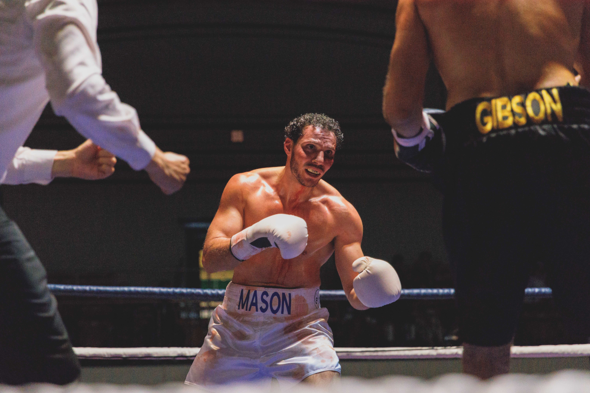 Evangelou as Mason in Shadow Boxer