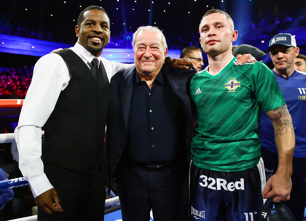 Jamel Herring vs Carl Frampton not viable right now, says Bob Arum, both to take interim bouts