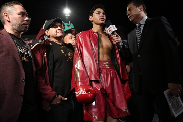 Ryan Garcia, Jorge Linares, Gary Russell Jr all on BoxNation in February