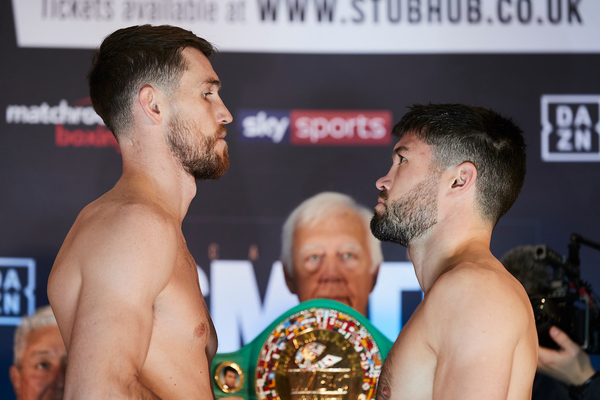 Smith vs Ryder: Boxing tonight weights, TV channel, running order & undercard