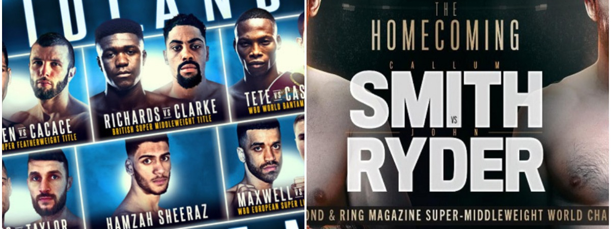 Matchroom Boxing Smith vs Ryder show & Frank Warren Midlands Mayhem: Who wins November?