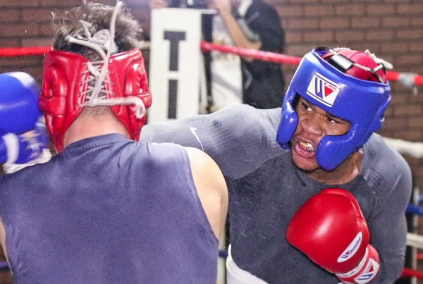 Devin Haney vs Isaac Lucero sparring footage (video)