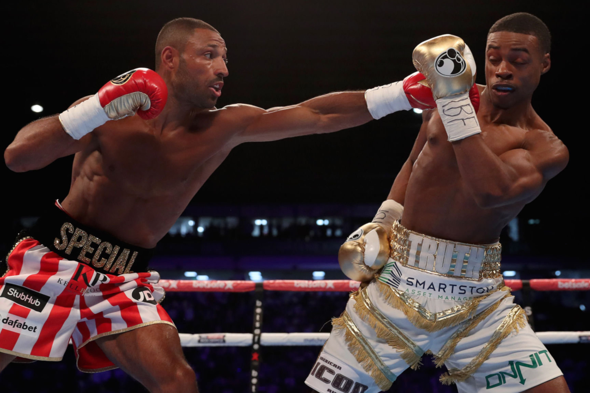 Kell Brook (left) vs Errol Spence