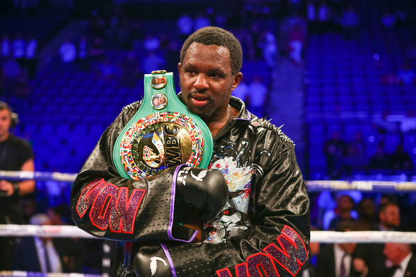 Dillian Whyte WBC Interim champ as suspension is lifted