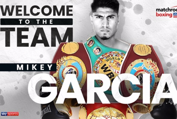 DAZN hail Mikey Garcia 'consistent numbers' as Eddie Hearn finally signs him
