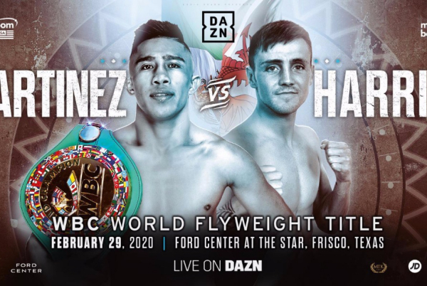 Jay Harris out to 'Shock the world' and Julio Cesar Martinez