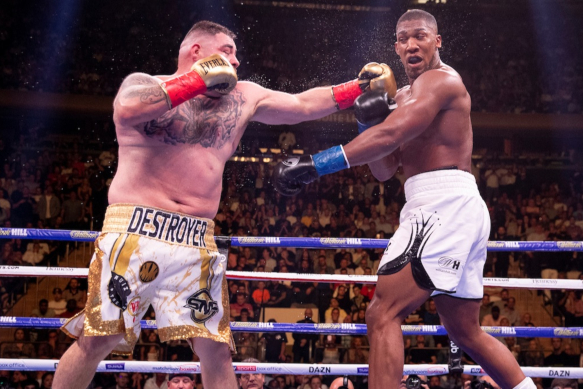 Andy Ruiz Jr upsets Anthony Joshua (Matchroom Boxing)