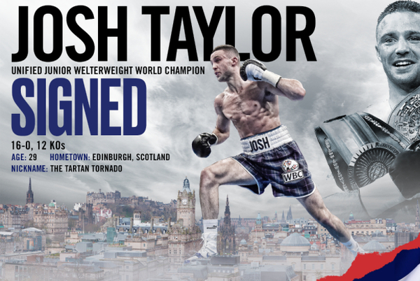 Josh Taylor signs with Top Rank, Jose Ramirez could be next
