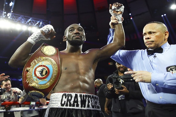 Terence Crawford: Kell Brook not on my radar until Manny Pacquiao fell through