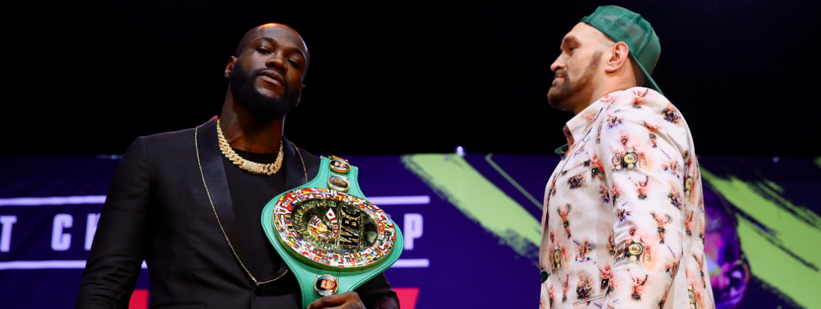 Deontay Wilder on Tyson Fury: 'I'm going to rip his head off his body'