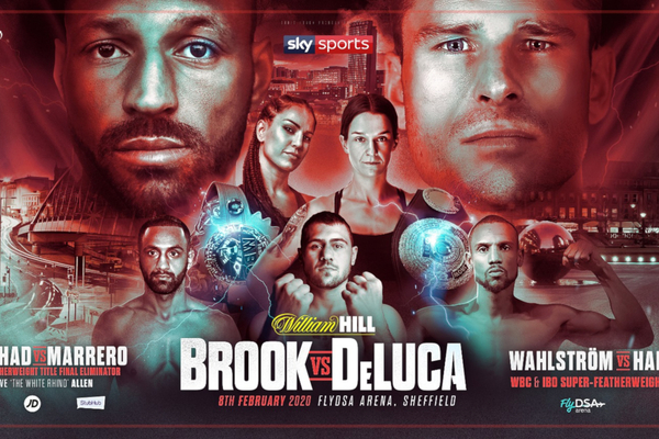 Kell Brook vs Mark DeLuca and all undercard details