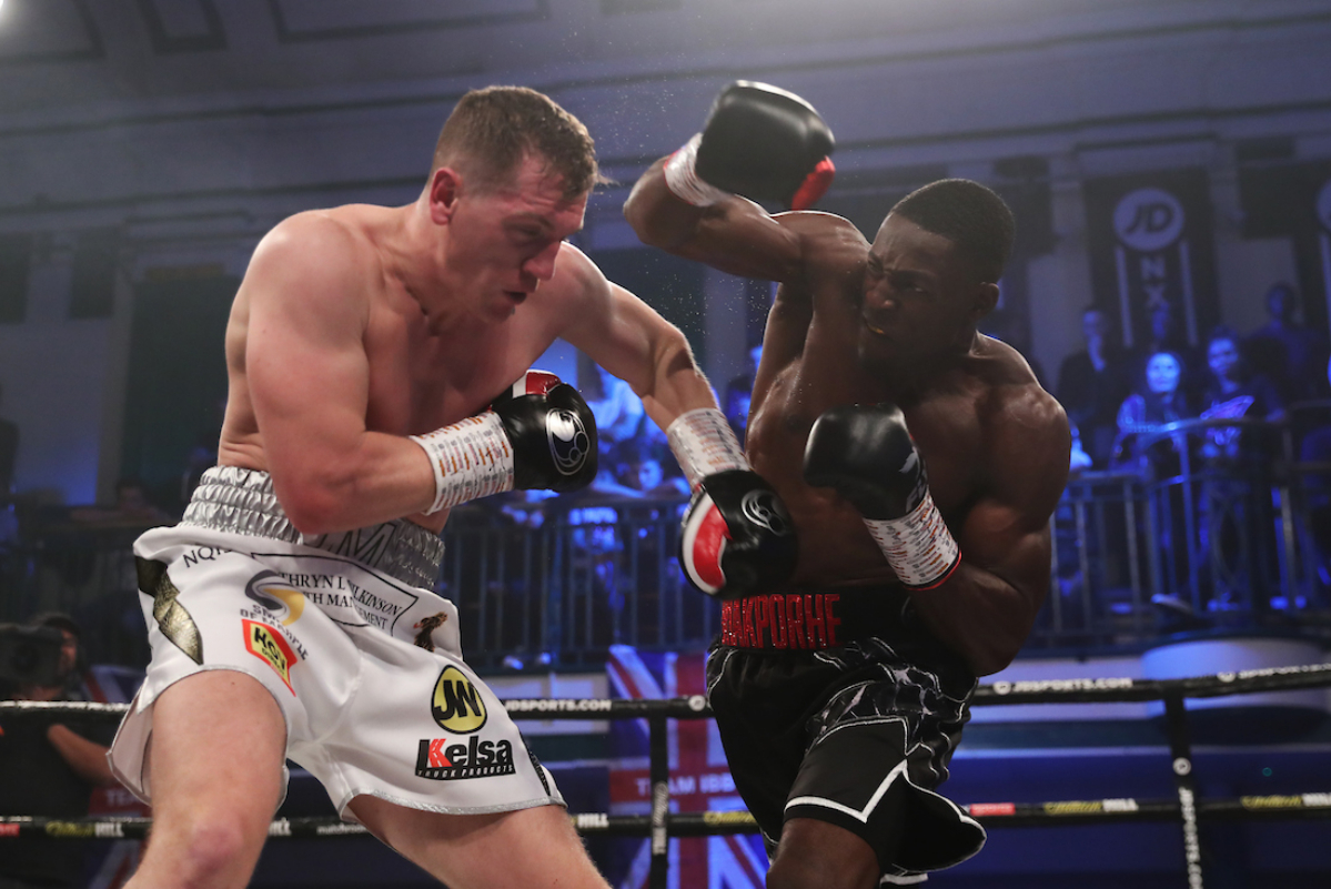 Richard Riakporhe vs Jack Massey (Mark Robinson/Matchroom Boxing)