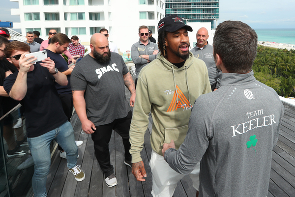 Demetrius Andrade blasts Luke Keeler: I'm going to give him the beating of his life!